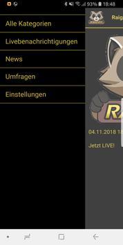 RaigeeApp screenshot 2