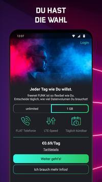 freenet FUNK – Mobilfunk per App mit unlimited LTE poster