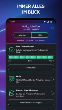 freenet FUNK – Mobilfunk per App mit unlimited LTE screenshot 3