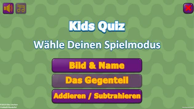 KidsQuiz poster