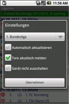 LigaLive screenshot 1