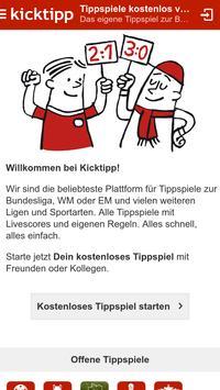 Kicktipp ポスター