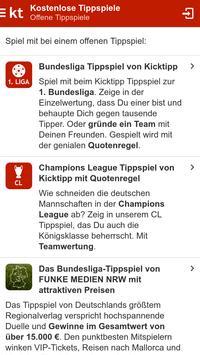 Kicktipp スクリーンショット 1
