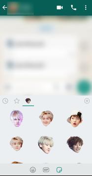 Exo WhatsApp Sticker Kpop screenshot 3