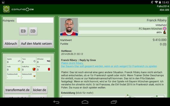 Comunio Screenshot 7