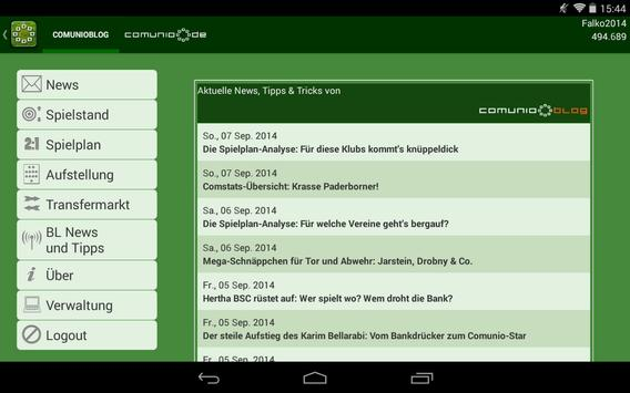 Comunio Screenshot 9