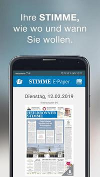 Stimme poster