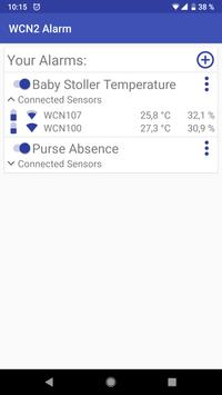 Wireless Climate Network - WCN2 Alarm poster