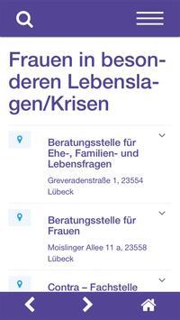 Wegweiserin für Frauen und Mädchen Lübeck screenshot 4