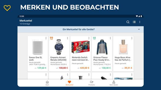 idealo: Produkt Preisvergleich Online Shopping App Screenshot 11