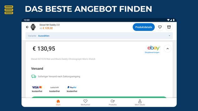 idealo: Produkt Preisvergleich Online Shopping App Screenshot 12