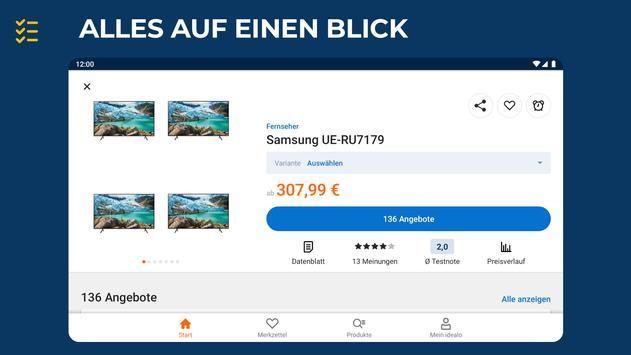 idealo: Produkt Preisvergleich Online Shopping App Screenshot 9