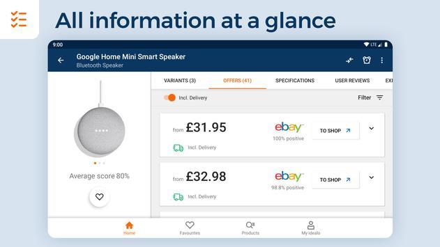idealo - Price Comparison & Mobile Shopping App imagem de tela 15