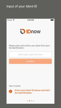 IDnow Online Ident screenshot 2