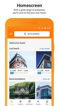 ImmobilienScout24 - House & Apartment Search screenshot 1