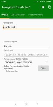 Isovpn screenshot 1