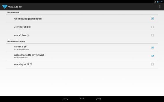 WiFi Automatic screenshot 2