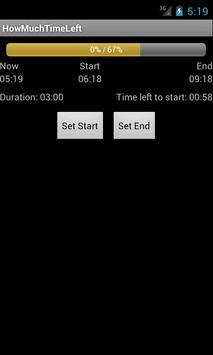 HowMuchTimeLeft screenshot 1