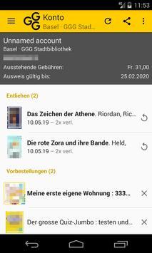 GGG Stadtbibliothek Basel screenshot 4