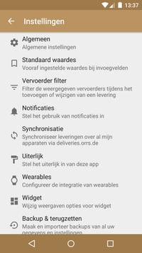 Deliveries screenshot 4