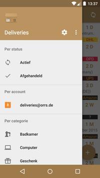 Deliveries screenshot 1