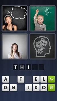Poster 4 Pics 1 Word