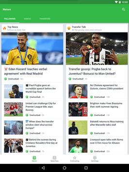 Onefootball screenshot 8