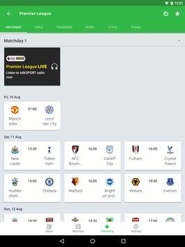 Onefootball captura de pantalla 13
