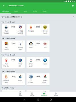 Onefootball captura de pantalla 10