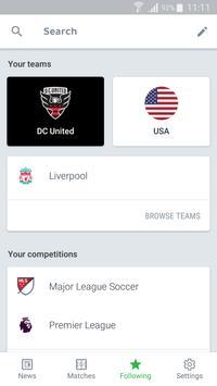 Onefootball imagem de tela 3