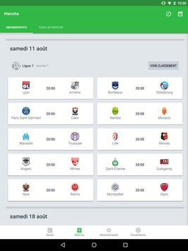 Onefootball capture d'écran 9