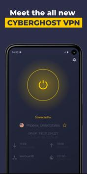 VPN by CyberGhost - Fast & Secure WiFi Protection poster