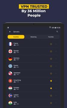 VPN by CyberGhost - Fast & Secure WiFi Protection screenshot 13