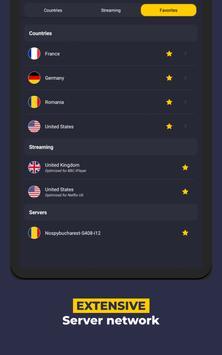 VPN by CyberGhost - Fast & Secure WiFi Protection screenshot 16
