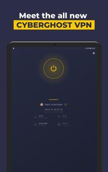VPN by CyberGhost - Fast & Secure WiFi Protection screenshot 6