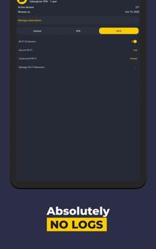 VPN by CyberGhost - Fast & Secure WiFi Protection स्क्रीनशॉट 14