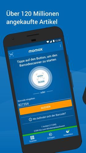 Momox login