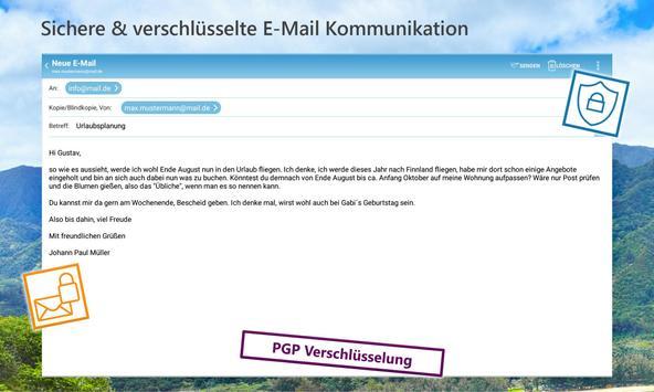 mail.de Mail Screenshot 5