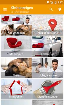 markt.de Kleinanzeigen poster