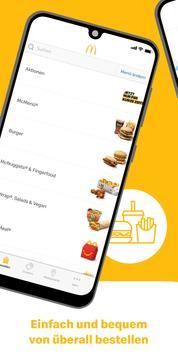 McDonald's Deutschland - Coupons & Aktionen Plakat