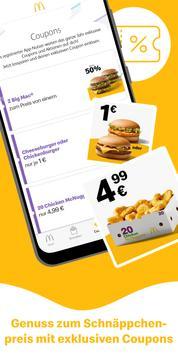 Poster McDonald's Deutschland - Coupons & Aktionen