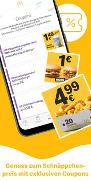 McDonald's Deutschland - Coupons & Aktionen Screenshot 1