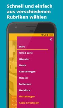 MDR KULTUR – Kultur-Tipps für Deine Freizeit Screenshot 3