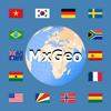 World atlas & world map MxGeo आइकन