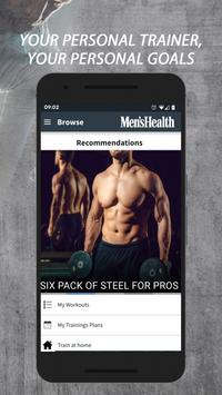 Men's Health Personal Trainer 스크린샷 1