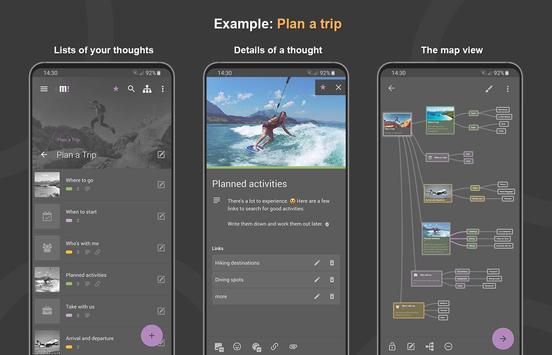 Mindz - Mind Map (Pro) Structure ideas simply capture d'écran 10