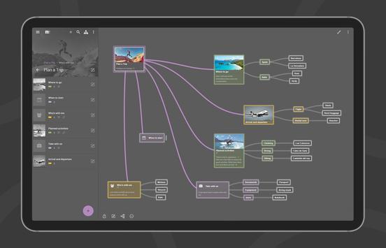 Mindz - Mind Map (Pro) Structure ideas simply capture d'écran 11