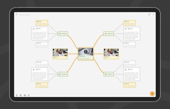 Mindz - Mind Map (Pro) Structure ideas simply capture d'écran 12