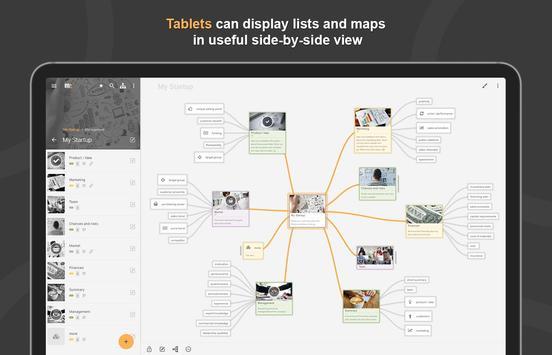 Mindz - Mind Map (Pro) Structure ideas simply capture d'écran 3