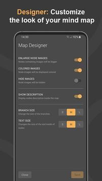Mindz - Mind Map (Pro) Structure ideas simply capture d'écran 5
